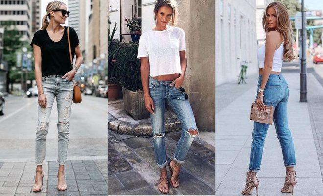 8986e4b44e74 30 Casual Summer Outfits With Jeans To Copy This Year