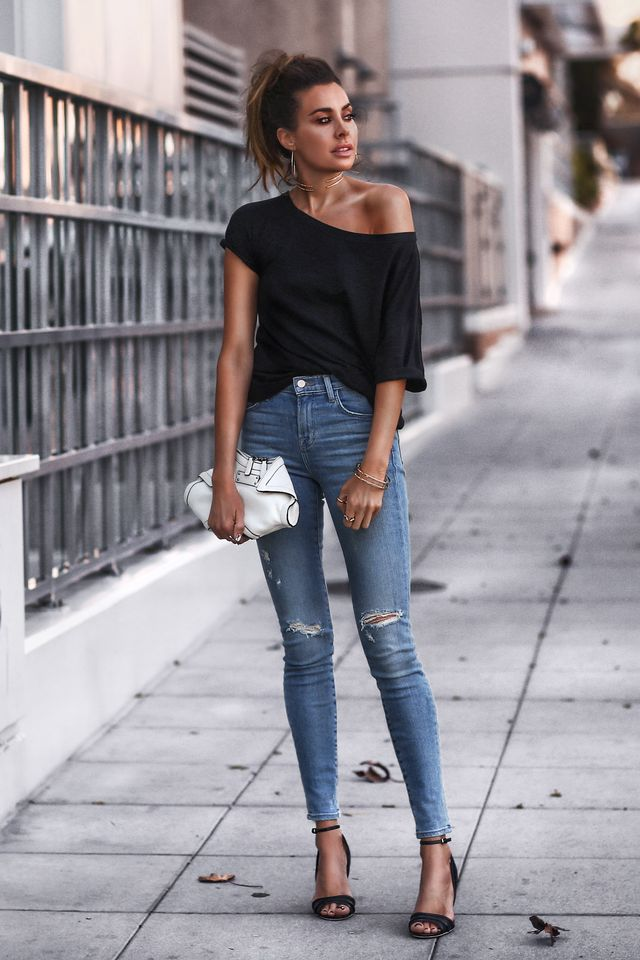 Summer casual outfits with jeans
