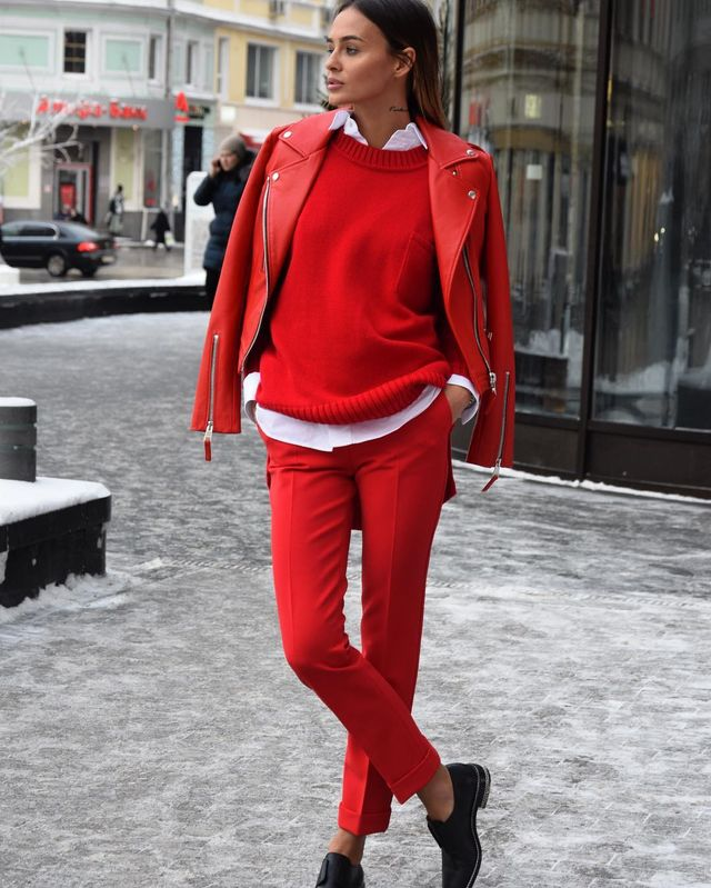 Red Fall Outfits For women