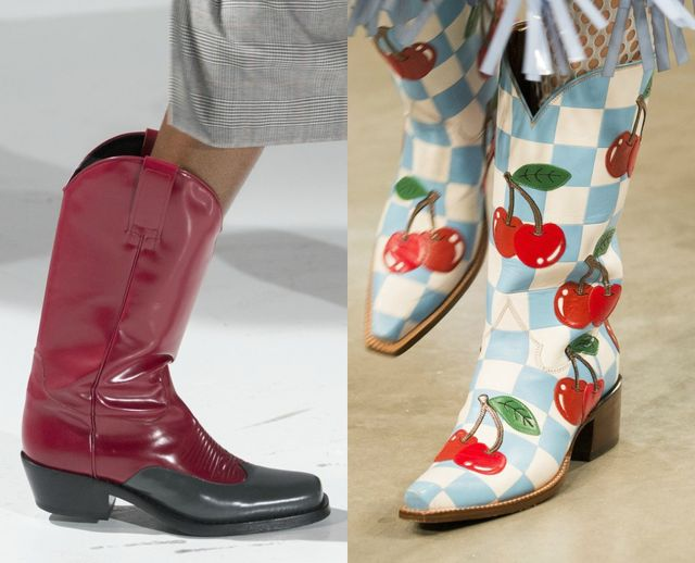 Autumn/ Winter 2017 boot trends | Cowboy boots