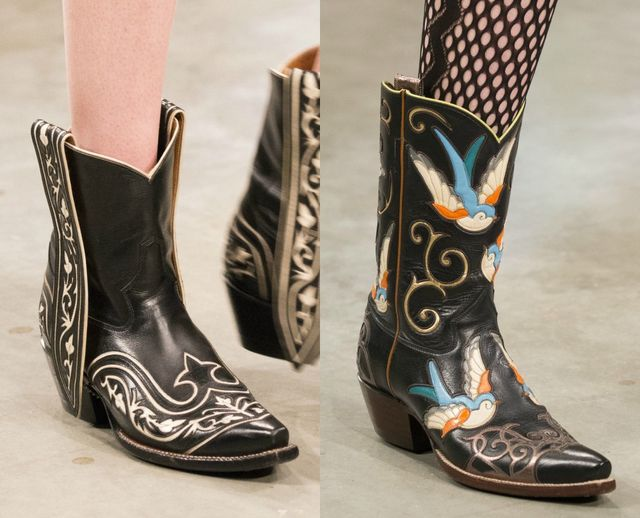 Fall Winter 2017 boot trends | Cowboy boots