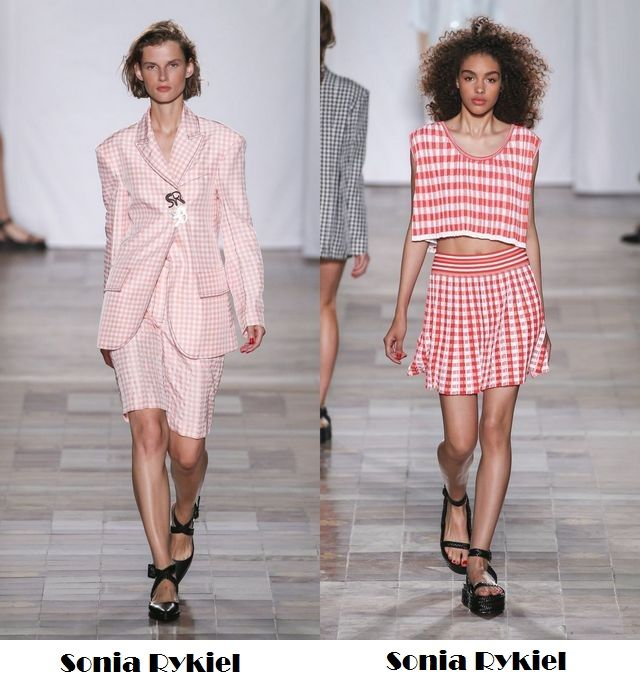 Plaid items to wear in the spring summer 2018 season