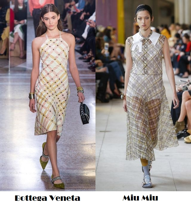 Plaid items for spring summer 2018 fashion trends