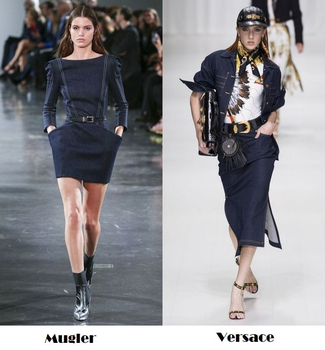 Denim clothes - a trend to folow this season
