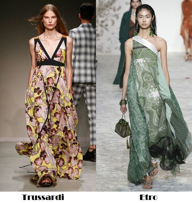 Beautiful dresses with flower prints for 2018 hot season