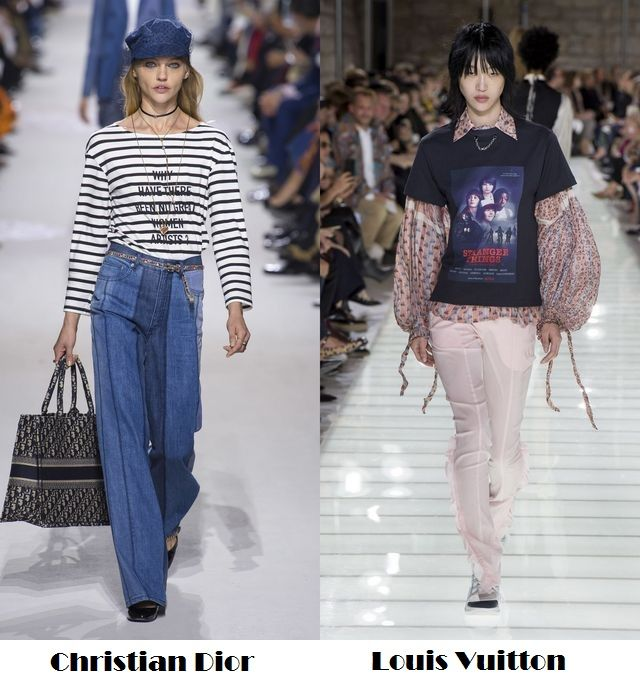 Spring Summer 2018 fashion trends: messages