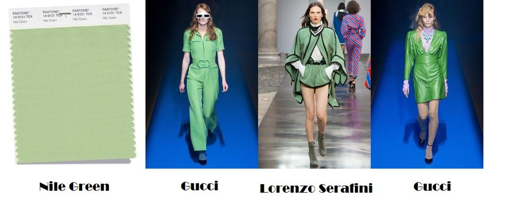 Nile Green For Spring-Summer 2018 Color Trends