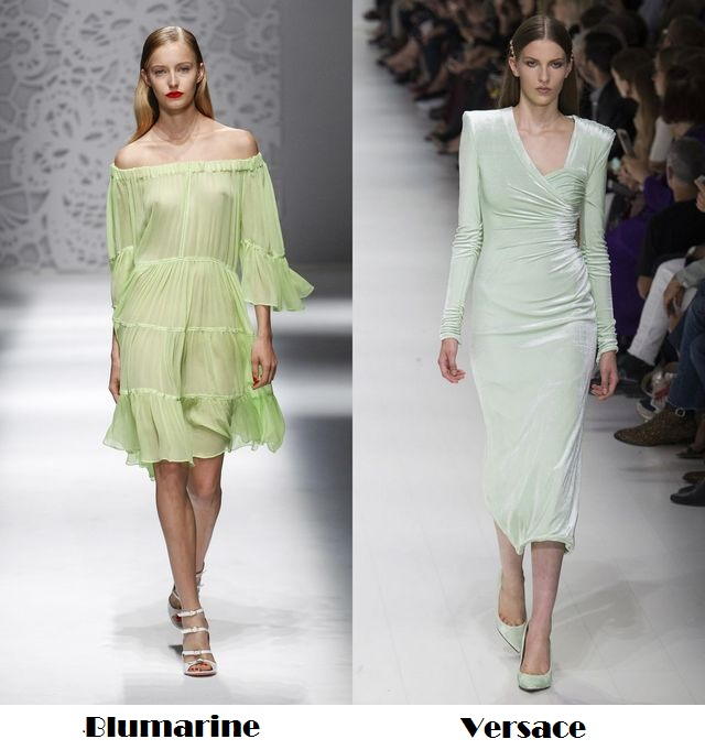 Green for spring summer 2018 fashion trends