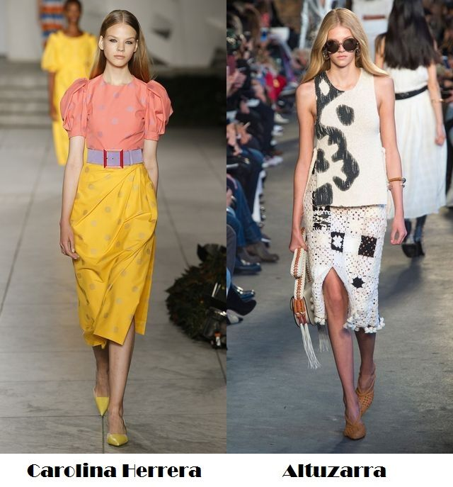 Beautiful colores pencil skirts - a trend to follow