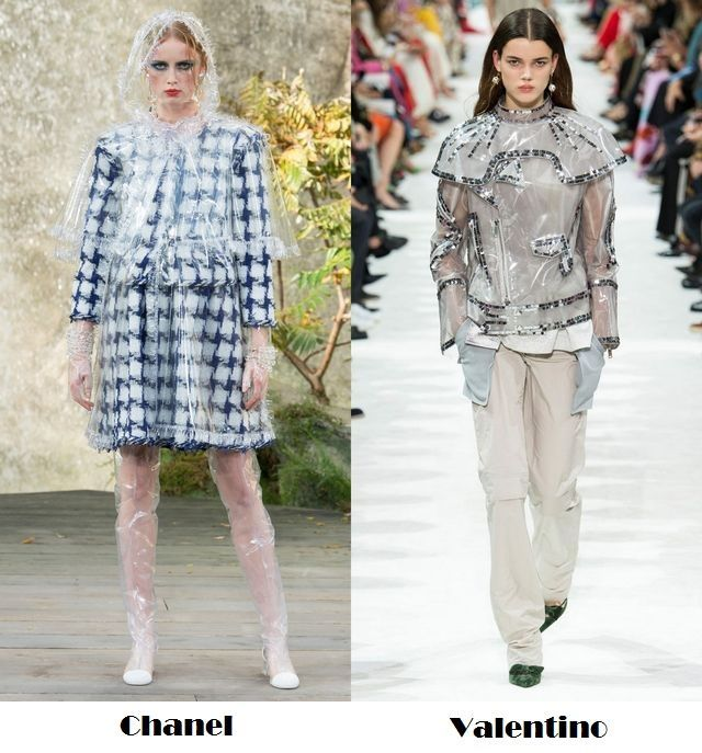 Plastic clothes one trend to follow in 2018