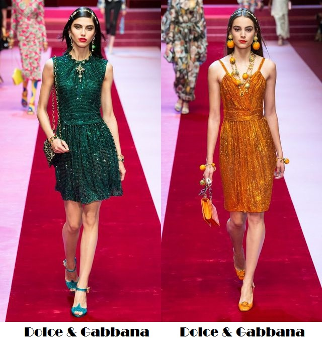 Sequin for spring summer 2018 fashion trends