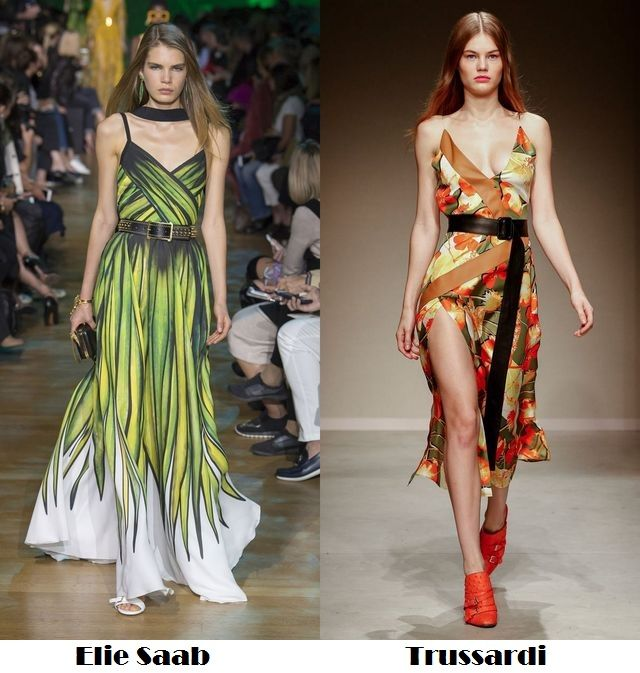 Spring Summer 2018 fashion trends: slip dresses with prints