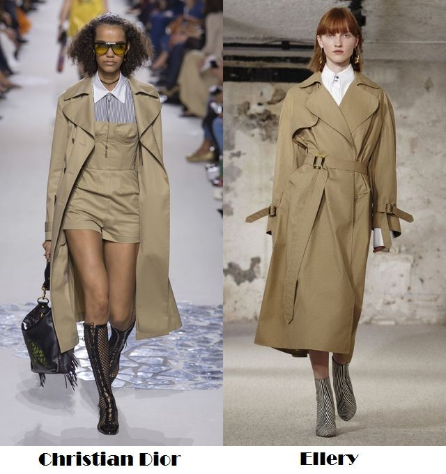 Spring Summer 2018 fashion trends: classic trench coats