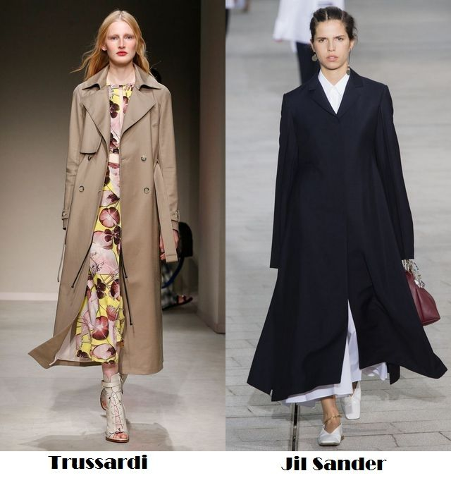 Spring Summer 2018 fashion trends: long trench coats