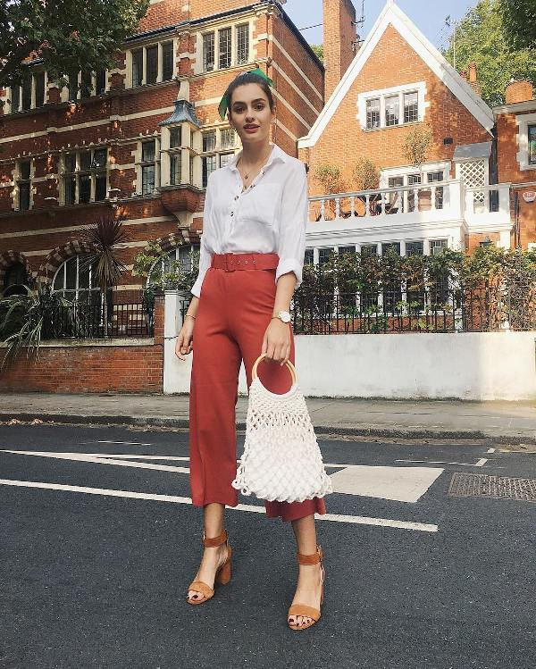 Shoes to wear with culottes