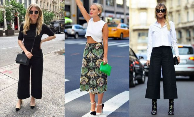 150cee9a7ece What Shoes To Wear With Culottes For A Stylish Look