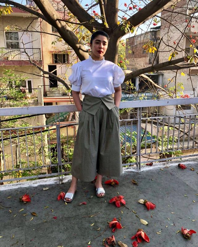 How to wear culottes with flip flops