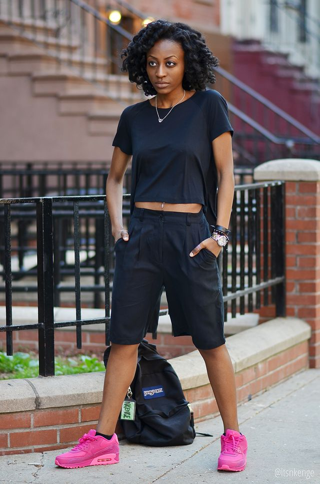 How to wear culottes with sport shoes