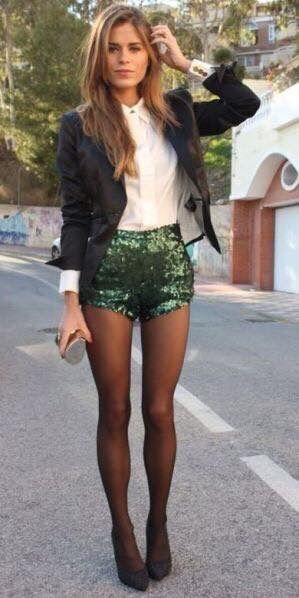 Club Outfits With Shorts | Clubbing outfits with shorts