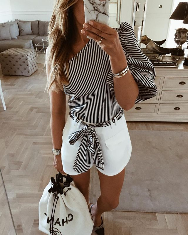 Summer outfits for teenage girl | Summer outfits with short pants