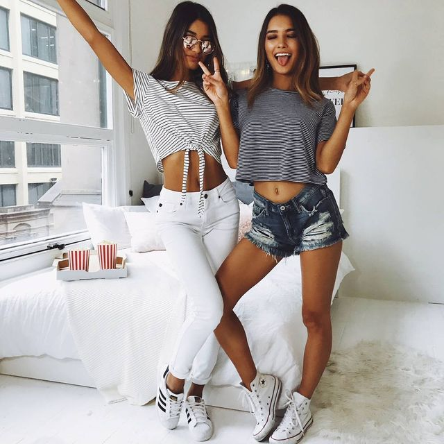 Summer outfits for teenage girl | Casual summer outfits