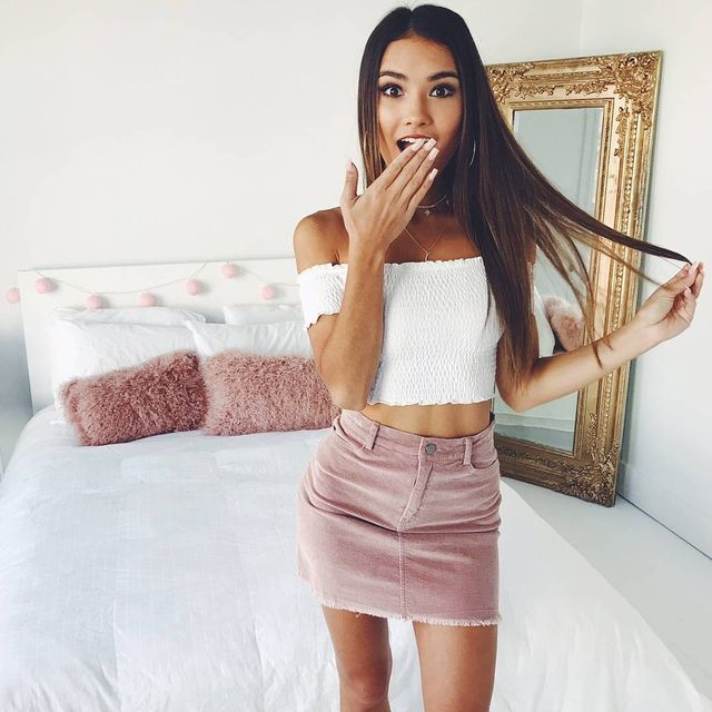 Summer outfits for teenage girl | Summer outfits with skirts
