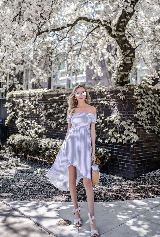 Summer Outfits For Teenage Girl | Beautiful off shoulders dress