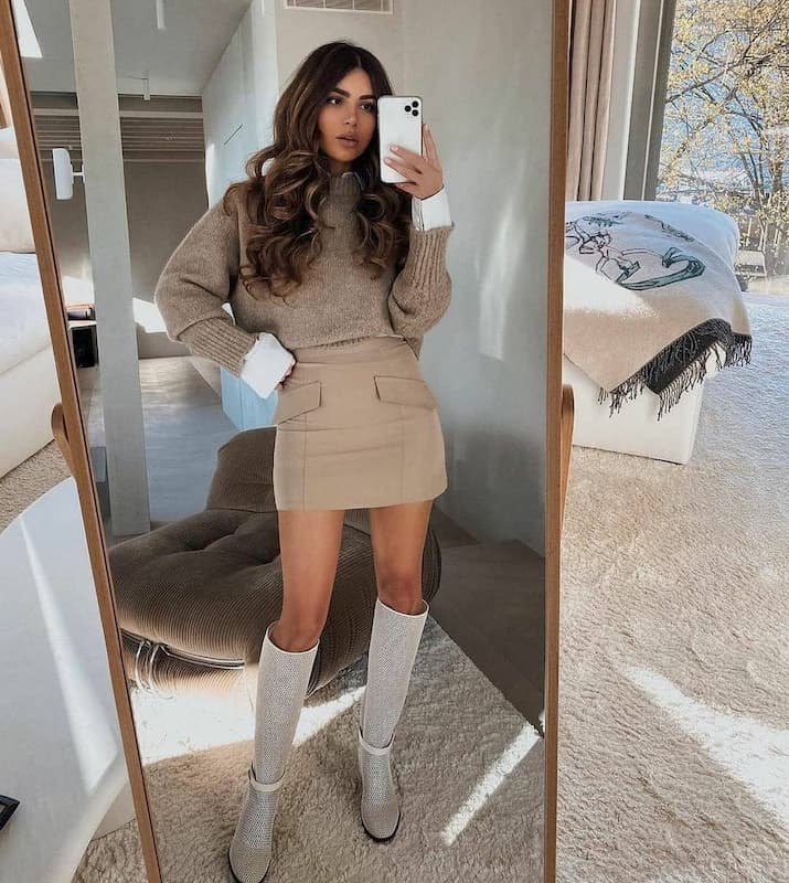 First date outfit in winter